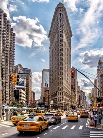 Flatiron Building Fifth Ave New York