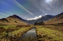 Fleetwith Pike from Buttermere - UK - Lake District