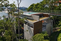 Floating Beach Home in Brazil So Paulo by SPBR Arquitetos
