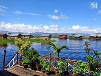 Floating Village on Inle Lake Myanmar