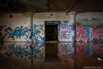 Flooded Paint Factory - Newark NJ