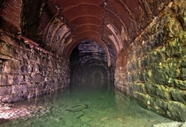 Flooded Train Tunnel in Northeastern US