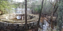 Flooded  year old gunpowder mill