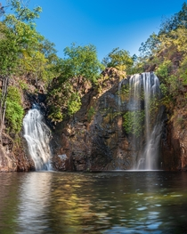 Florence Falls in Litchfield National Park - Northern Territory Australia