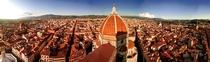Florence from Giottos Bell Tower