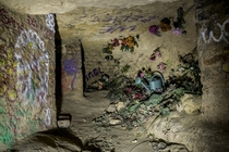 flower room in Parisian catacombs utr_inf