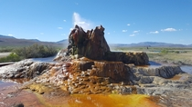 Fly Geyser near Gerlach NV
