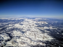 Flying into Vail Colorado -  x