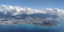 Flying out of Honolulu