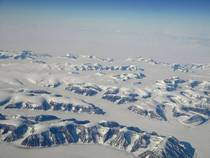 Flying over Greenland a while ago and caught this great picture