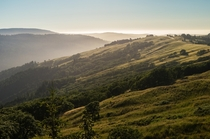 Foggy Hill tops - Northern California