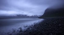 Foggy Icelandic shore  XPost rFoggyPics By Catalin Marin