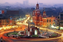 Foggy winter evening in Multan Pakistan  x-post rExplorePakistan