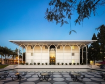 Foley Center Los Angeles USA designed by Edward Durrell Stone in