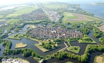 Following all the star forts that have recently been posted here this is Naarden one of the best preserved star forts in the world