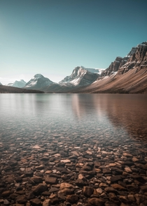 Following the portrait trend at Bow Lake Alberta