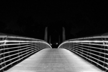 Footbridge in Houston