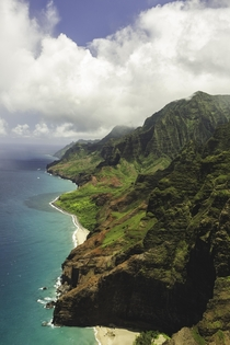 For my birthday I took a helicopter flight around Kauai