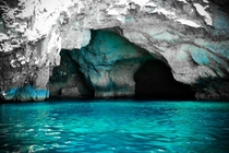 For once not a landscape Blue Grotto Malta