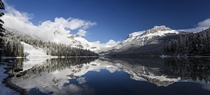 For those missing the winter as much as I am Emerald Lake in Yoho National Park BC Canada