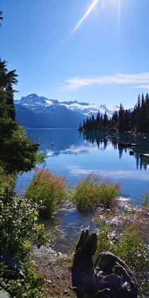 For those who dont want to fight the crowds in the Canadian Rockies theres always Garibaldi Provincial Park Garibaldi Lake BC Canada x OC