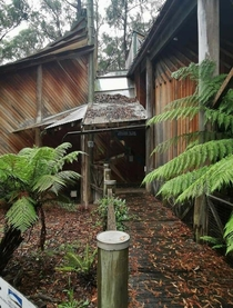 Forestry Discovery Centre in Victoria Australia closed in  for not passing a Bush Fire building code Oops