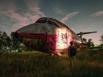Forgotten  airplane in the Midwest
