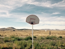 Forgotten Basketball Field - Middle of Nowhere Utah