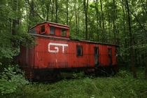 Forgotten caboose Photo by Brian B