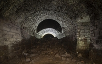 Forgotten tram tunnel under Derbyshire UK