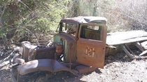 Forgotten Truck up in the mountains Hurst Canyon Salmon-Challis Natl Forest Idaho