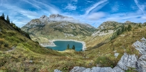 Formarinsee Lechtal in the Austrain Alps