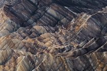 Formations from the Pliocene Epoch Death Valley CA OC