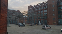 Former AEG factory in Berlin Germany