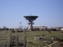 Former Base of Soviet Lunar Operations at Shkolnoye Crimea