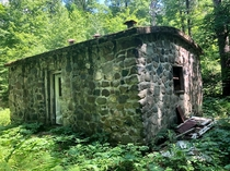 Former Civilian Conservation Corps Dynamite house- now an abandoned hunting cabin and geocache location  Cable WI