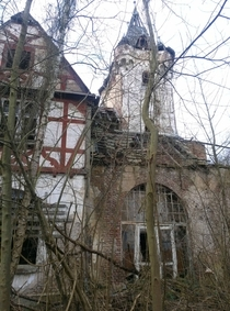 former hotel above the Rhine Remagen Germany