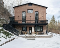 Former masonry foundry turned to contemporary weekend home Somers New York by Ravi Raj Architect Photo Nick Glimenakis