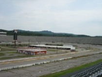 Former NASCAR track from - now -- North Wilkesboro Speedway x