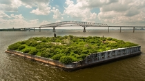 Fort Carroll in the Patapsco River near Baltimore MD