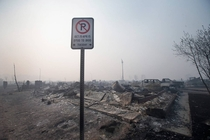 Fort McMurray looks like a war zone