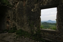Fort on top of Rocca Pendice Veneto Italy