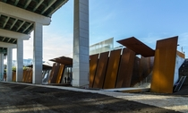 Fort York visitor centre in Toronto by Patkau Architects and Kearns Mancini Architects