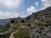 Forte Campomolon an abondoned WW fortification in northern Italy