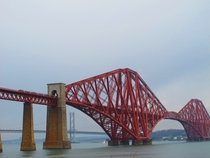 Forth Bridge in Scotland open since