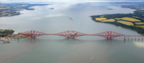 Forth Bridge in Scotland was completed in  It continues to be the worlds second-longest single cantilever span with a span of  feet  m