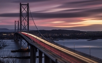 Forth Road Bridge UK
