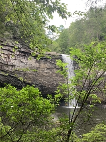 Foster Falls on the Fiery Gizzard Trail Tennessee
