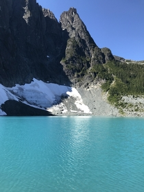 Foster Lake in Strathcona Provincial Park BC