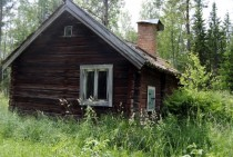 Found an old cottage in the middle of the forest near Gvle Sweden